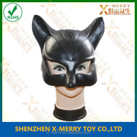 X-MERRY ADULT CAT WOMAN SUPERHERO LATEX RUBBER MASK HALLOWEEN FANCY DRESS ACCESSORY CARNIVAL MASK