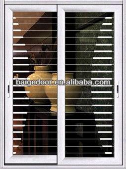 BG AW9132 Sliding Glass Door With Grills/Sliding Doors For Kitchens