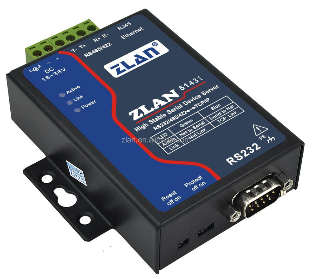 Industrial Modbus Serial Server RS232//RS485//RS422 to Ethernet Device Converter