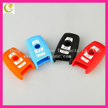 Silicone Car Remote Fob Key Holder Case Cover For BMW X1 X5 3 5 Series