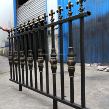 factory price Villa decorative used aluminum fences design for garden security railings