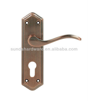 OEM/ODM stainless steel double sided sliding door pull handle