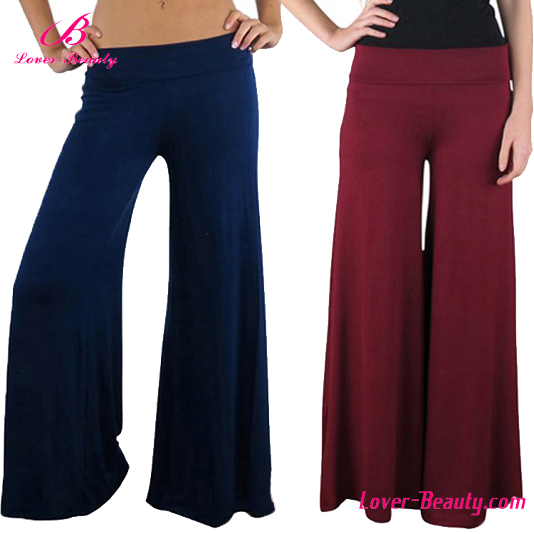 2016 High quality classic comfortable women palazzo pants