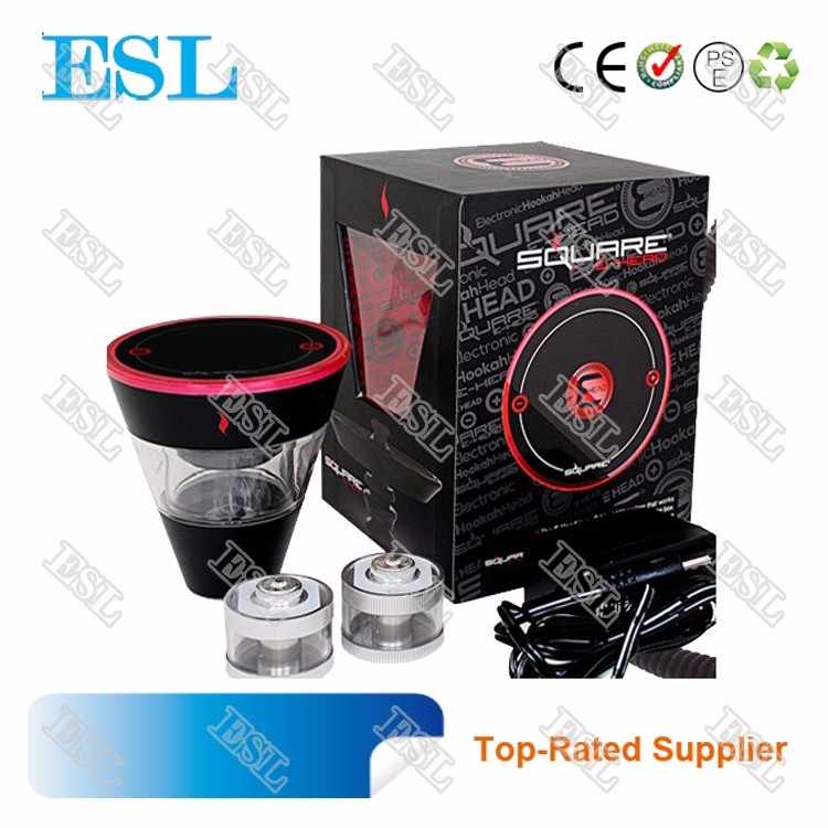 2017 Best Selling Hot Chinese Products Square e head e-shisha head