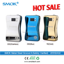 2014 Smoktech best selling electronic cigarette box mod Groove II vv vv ecig box mod