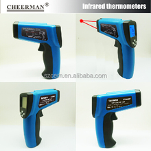 newest DT8016Y metallurgy wide application 80:1 digital thermometer Dual Laser IR non contact pyrometer temperature gun tester