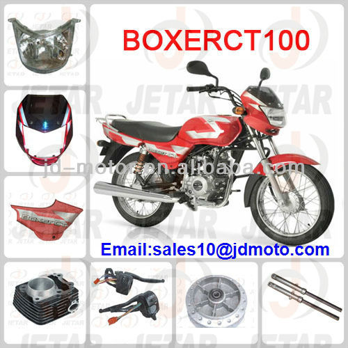 BOXER CT100 spare parts for BAJAJ