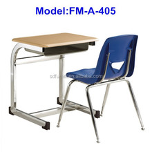 No.FM-A-405 Modern design school desk and chair