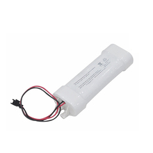 Battery for emergency light, sc size 1800mah 7.2v nicd rechargeable battery