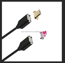 hot sale Magnetic USB Charging data Cable with LED charging indicator