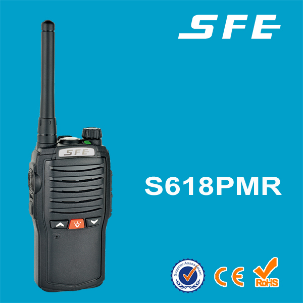 New type two way radio for car with torch light