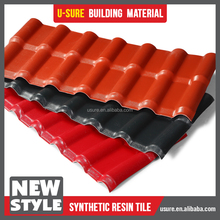 purple roof tile / excellent load-carrying ability light coatings for roofs / ASA roof tiles