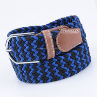 Factory Price Manufacturer Colors Striped Canvas Belt