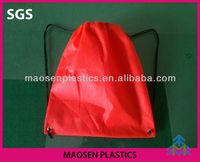 2013 Cheapest Promotional Non Woven Drawstring Bag Plastic Drawstring Bags