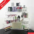 Plastic Makeup Organizer Storage Box Manufacturer