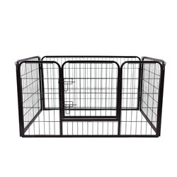 4 panel metal pet pen dog pen