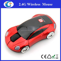 Computer optical 2.4g driver wireless usb mouse CAR shape mice