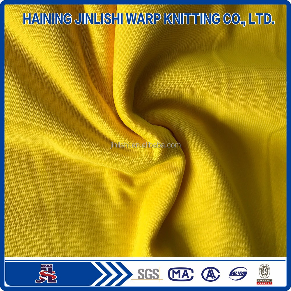 Polyester knitted super poly brushed fabric for sportswear