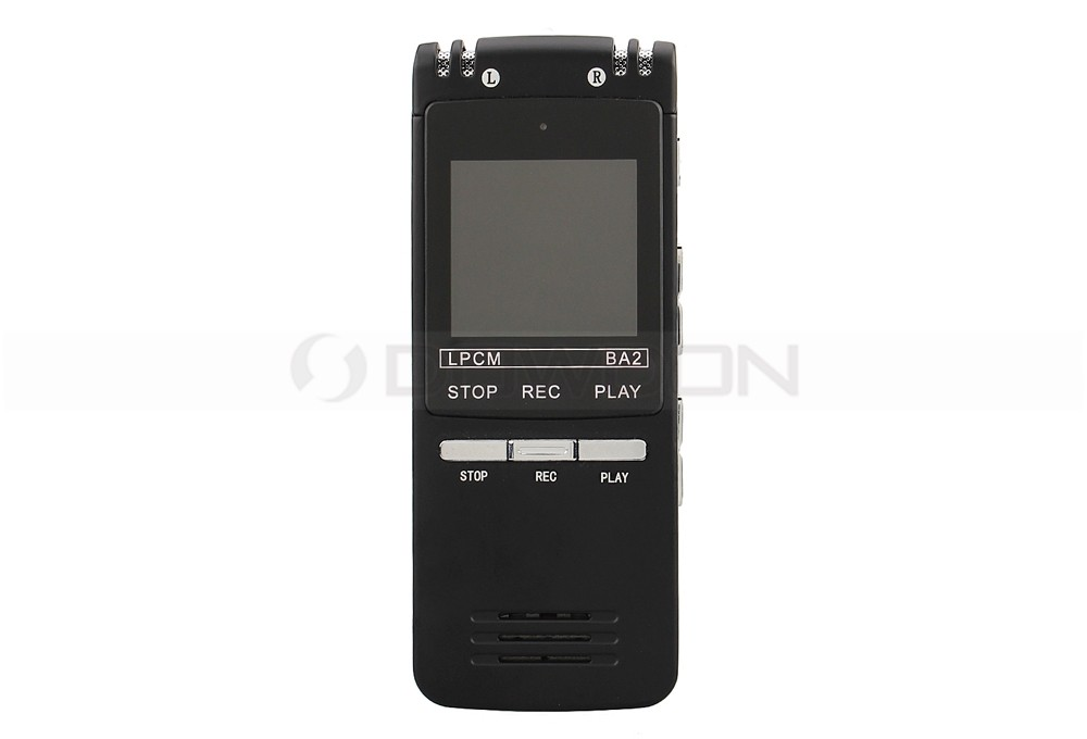 MP3 Recording Format Dictaphone Pen LCD Display 8GB Mini USB Voice Recorder
