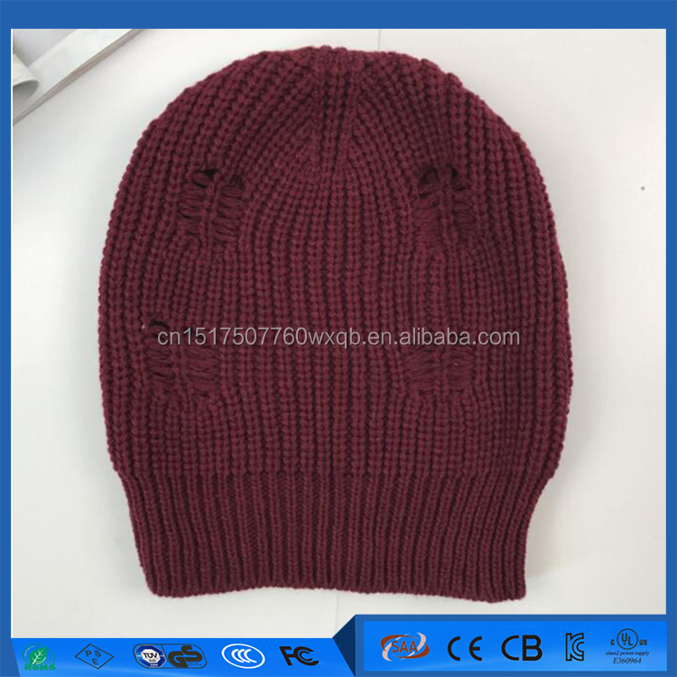 China supplier customize winter hat beanie winter warm hat crochet knit hat