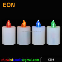 2*C(R14) battery operated Cemetery Candle Light Memorial Light LED Grave Candle