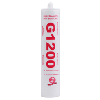 General Purpose cheap Glass silicone sealant 1200