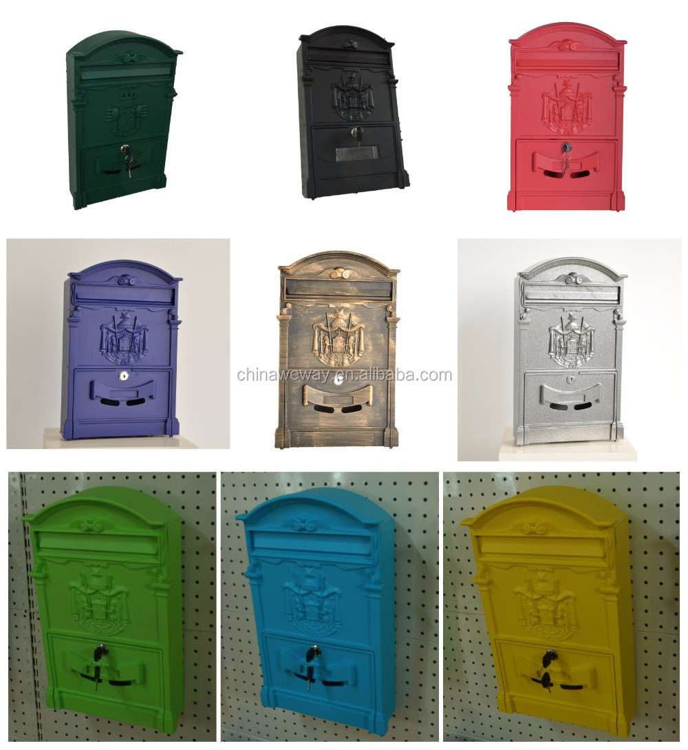 2017 Home Garden Waterproof European Type Mailbox