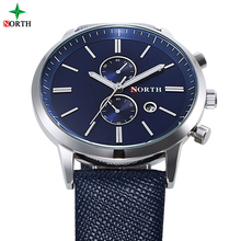 3ATM waterproof Man leather watch bands 3ATM sapphire crystal watches prices