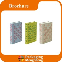 a3 a4 a5 thick card perfect binding printing A grade paper hardcover book printing