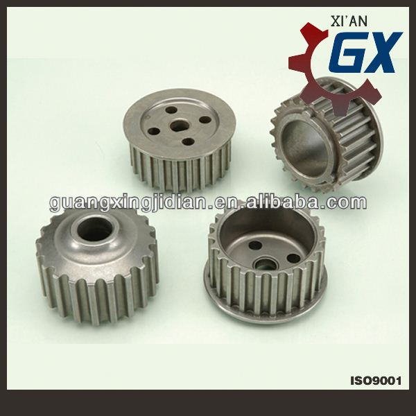 Xi'an OEM stainless steel timing pulley/small timing pulley/steel timing pulleys