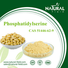 Natural Brain Supplements Soybean Extract Phosphatidylserine 50%