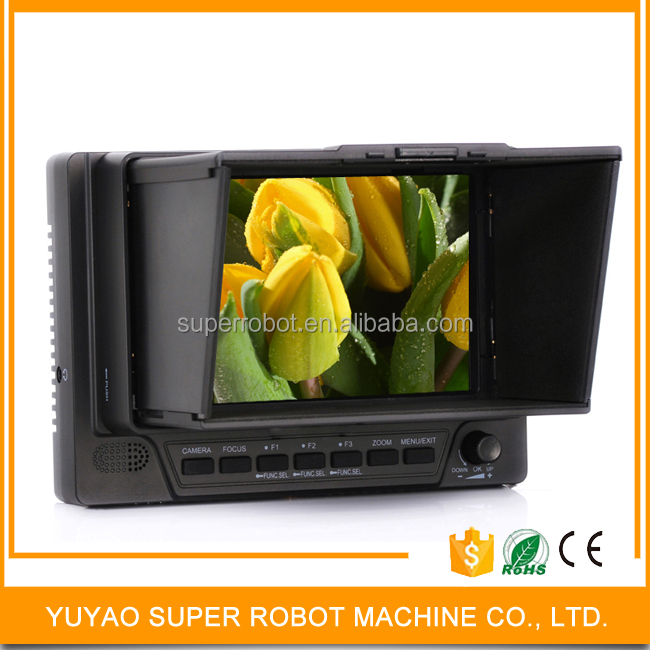5 inch small tft lcd monitor 8 bit 800*480 mini on-camera field lcd monitor