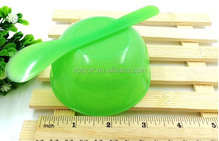 Portable PVC small ficial Mask set of bowl
