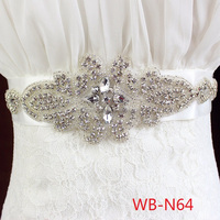 2016 Wholesale new design wedding dress belt
