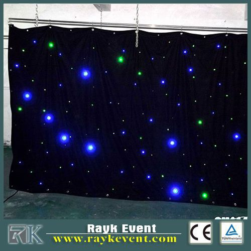 2015 new product party decorations led star cloth led ring light