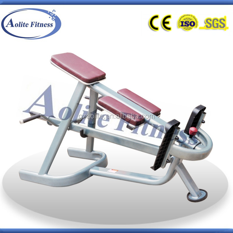 Seated Rowing Machine Gym Equipment Lying T-bar Row for fitness center