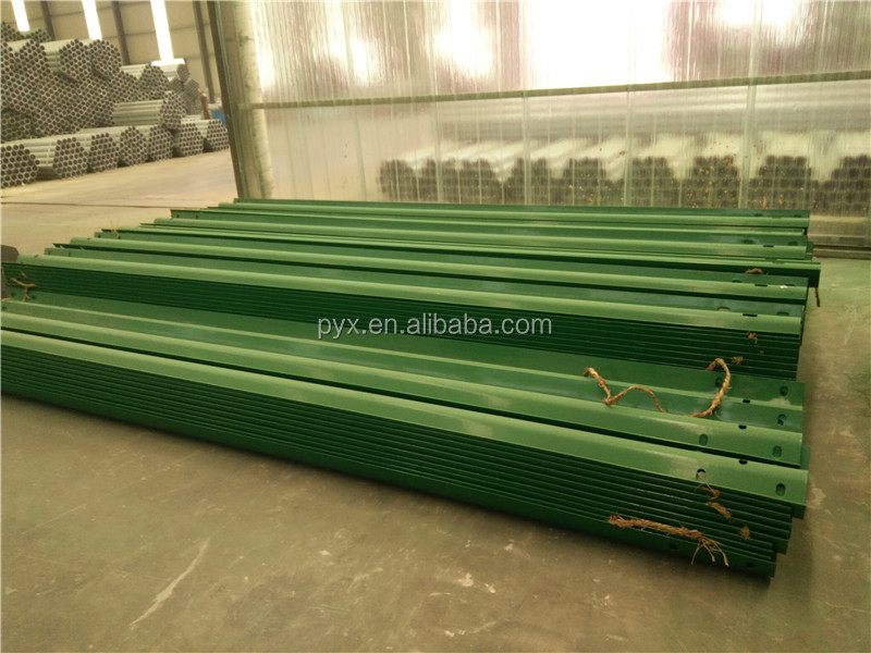 China factory hot dipped galvanized crash barriers cold rolled technique