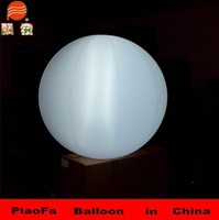 high quality Advertising durable 190t oxfor cloth inflatables ground balloon led