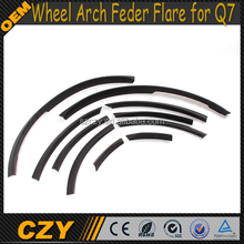 High Quality PU Q7 Car Wheel Arch Eyebrow for Audi
