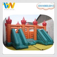 giant inflatable water slide bouncer castle inflatable games children's