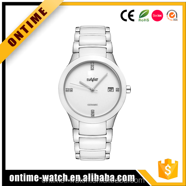 Hot Sales High Tech Ceramic Watch wrist Movement accept OEM/ODM watches