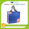 Good quality Europian and American style pp non woven shopping bag wholesale