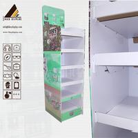 L0390 Products Display Shelf Corrugated Cardboard Retail Display