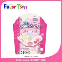 Children cosmetic bag girl face paint kid educational toys plastic toy makeup set