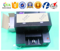 Best choice! Flatbed printer for Epson R2300 printer with ciss system in 6 colors