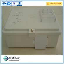 Waterproof Single Phase Electrical Energy SMC Electric Meter Box
