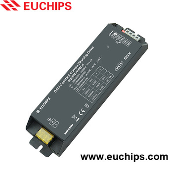 Shanghai Euchips 60W 1050/1200/1400mA constant current dimming dali power supply