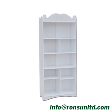 Children White Poplar Plywood Book <strong>Shelf</strong> for Kids