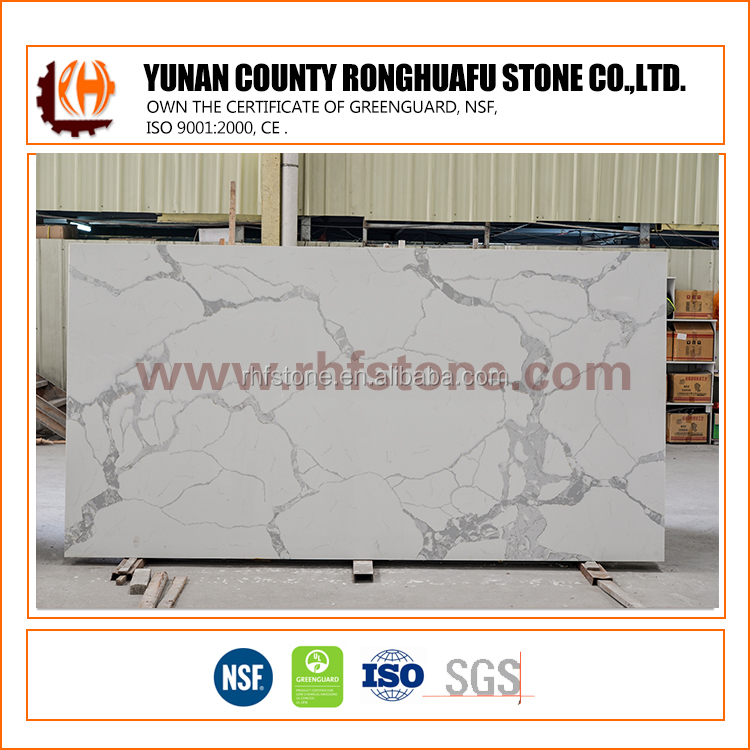 Manufacturer quartz slabs Statuario marble dining table set