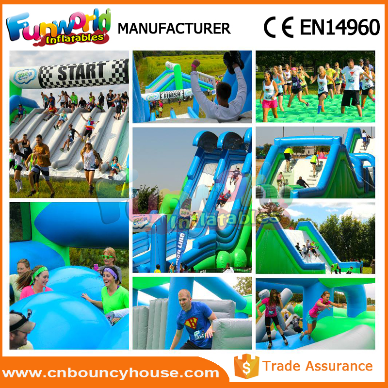Race wipeout course for sale inflatable tunnel rental 5k inflatable obstacle course